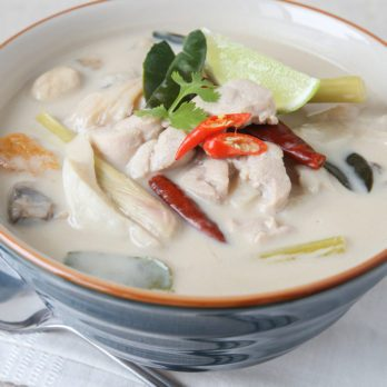 Thai Chicken Lemongrass Soup