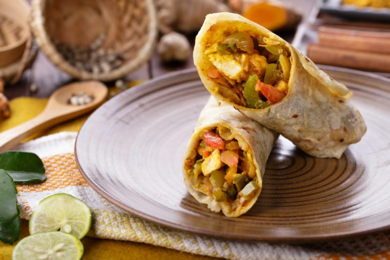 Recipe_Chicken Wrap