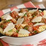Fusilli and Meatballs