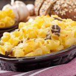 Mushroom Macaroni Cheese
