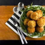 Rice Croquettes with Mozzarella