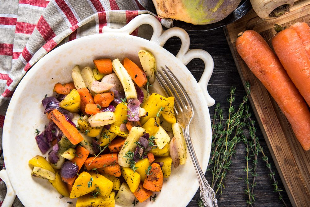 carrot recipes | Roasted Root Vegetables Recipe