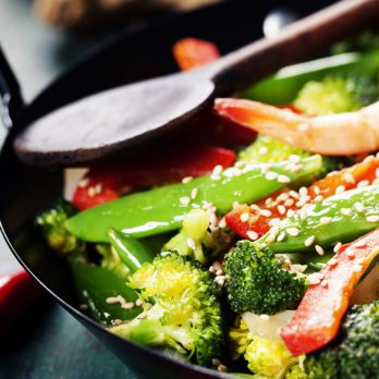 You'll Crave This Veggie-Packed Shrimp Stir-Fry All Week Long