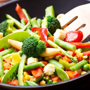 Spicy Garlic Vegetable Stir-Fry