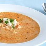 Creamy Tomato and Crab Soup