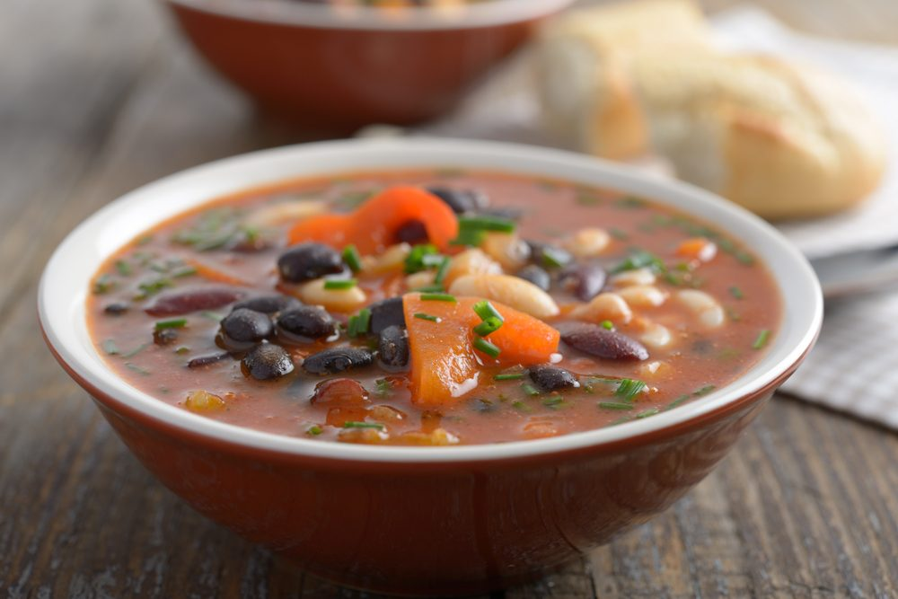 The Tuscan Mixed Bean Soup That's High In Fibre and Protein