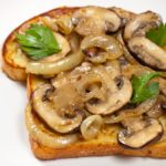 Herbed French Toast with Mushrooms