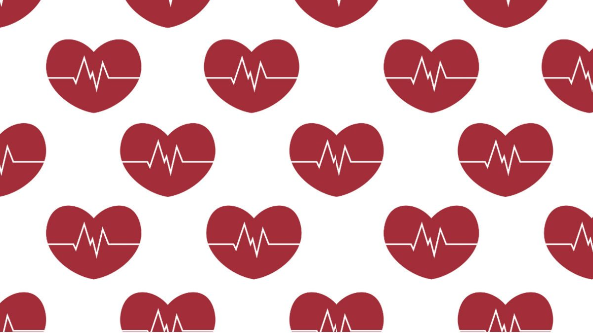 hypertension, heart illustration