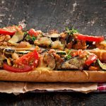 Roasted Vegetable Baguettes