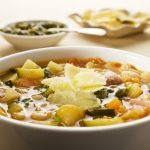 Hearty Vegetable Pesto Soup