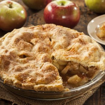 Whole Grain Crusted Apple Pie