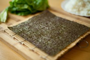Yummy Vegetarian Sushi Pockets