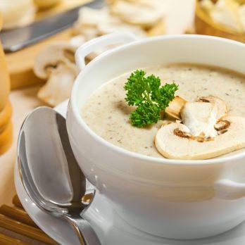 Rustic Portobello Mushroom Soup