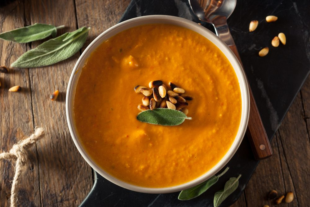 Recipe for Healthy Carrot Soup