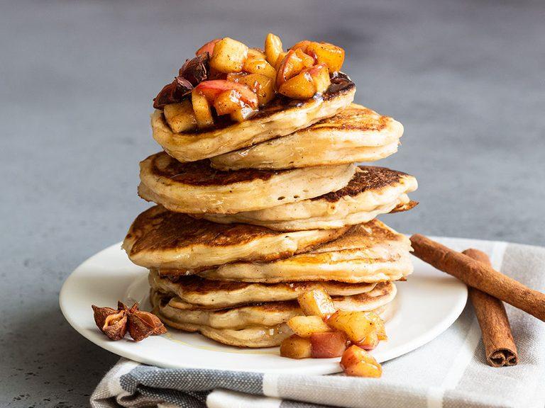 apple pancakes   pancake recipes