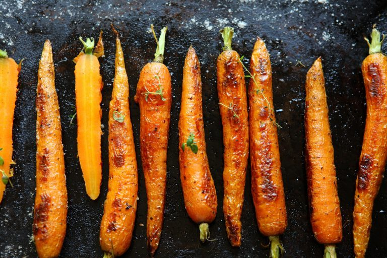 carrot recipes | honey-roasted carrots