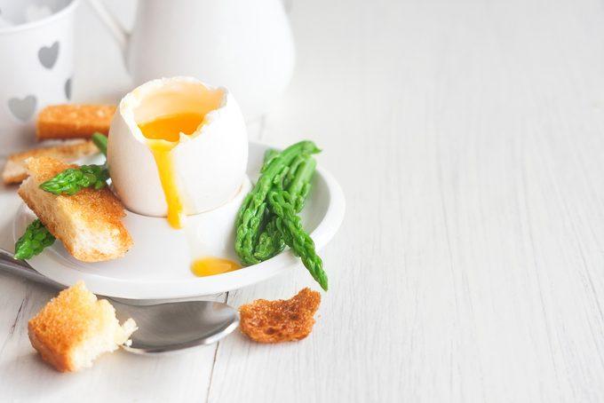 boiled egg - eat more eggs