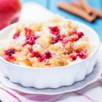 Vegan-Friendly Fig and Raspberry Rice Pudding