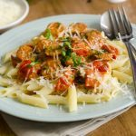 Roasted Squash and Sausage Penne