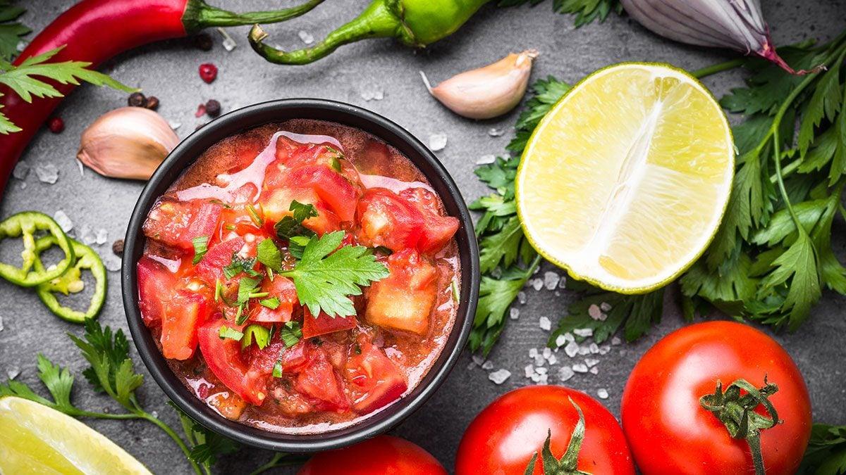 Healthy Foods, salsa