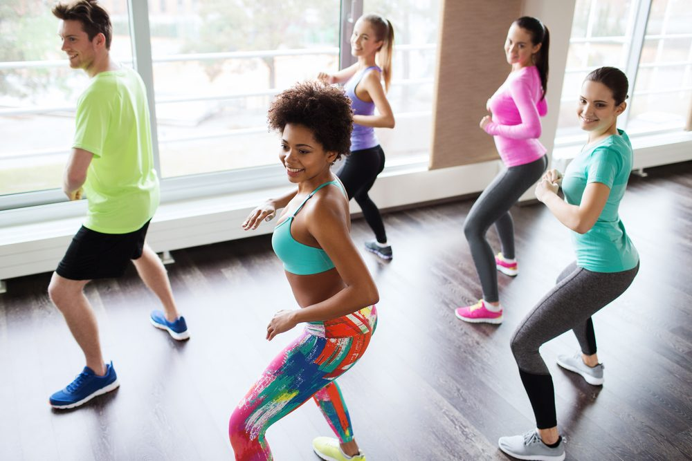 fun ways to stay in shape_woman doing zumba