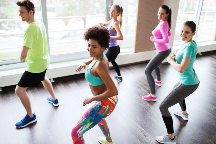 fun ways to stay in shape_woman doing zumba