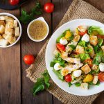 Simple Salad Recipe: Herbed Chicken and Tomatoes