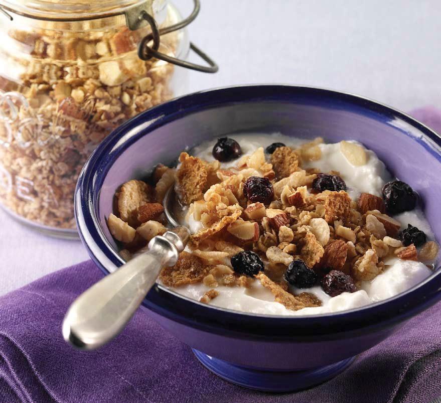 Blueberry-Almond Muesli