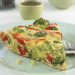 Red and Green Frittata