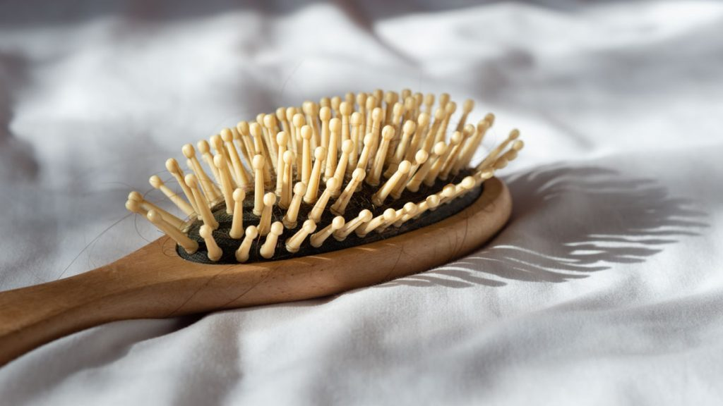 hair brush for shiny hair