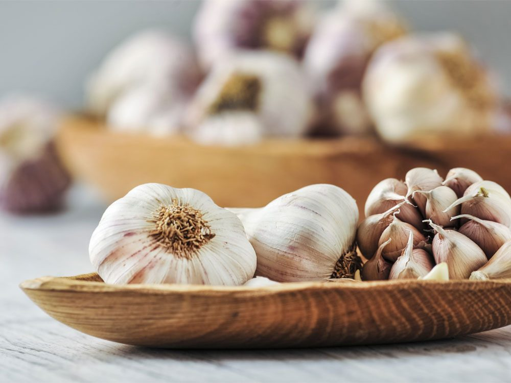 Flu Symptoms, garlic