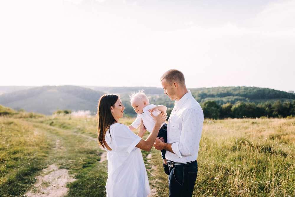 happy couple with baby_have hot sex again