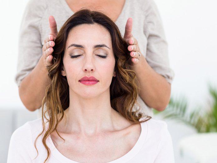 reiki treatment, healing hands