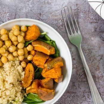 One-Pot Sweet-Potato Couscous