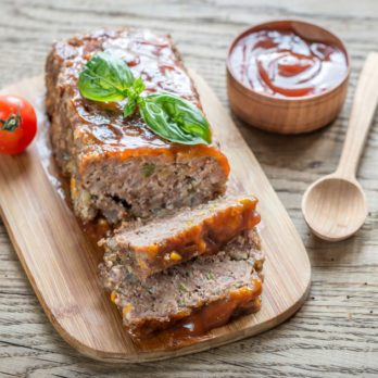 The Greatest Greek-Style Turkey Meatloaf