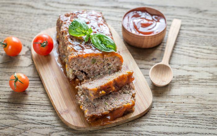 Greek-style meatloaf recipe