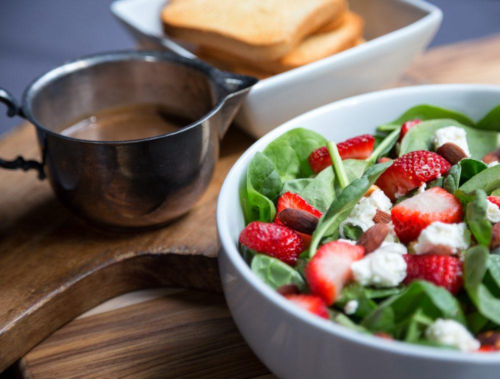 healthy menu options - garden fresh