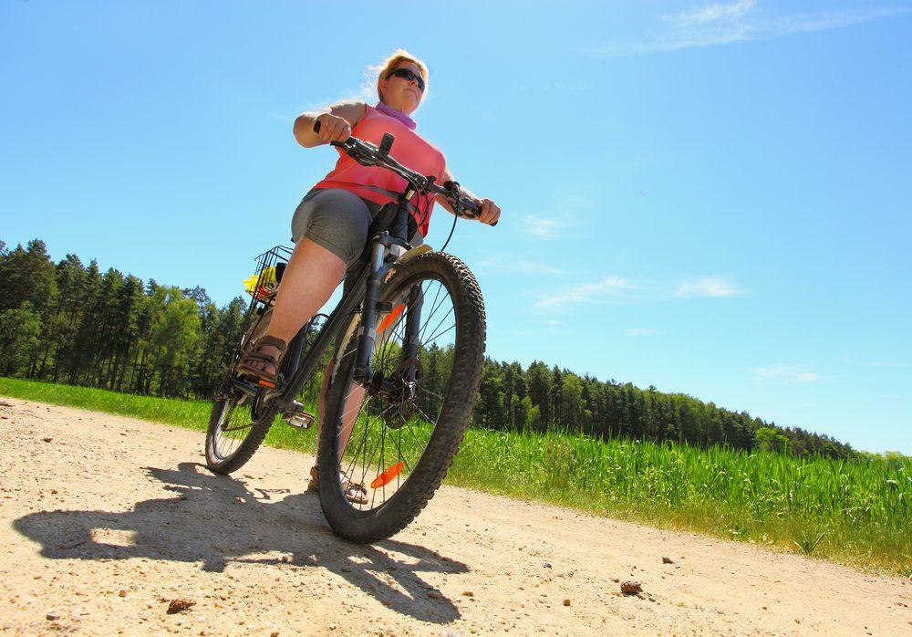 woman biking_always tired