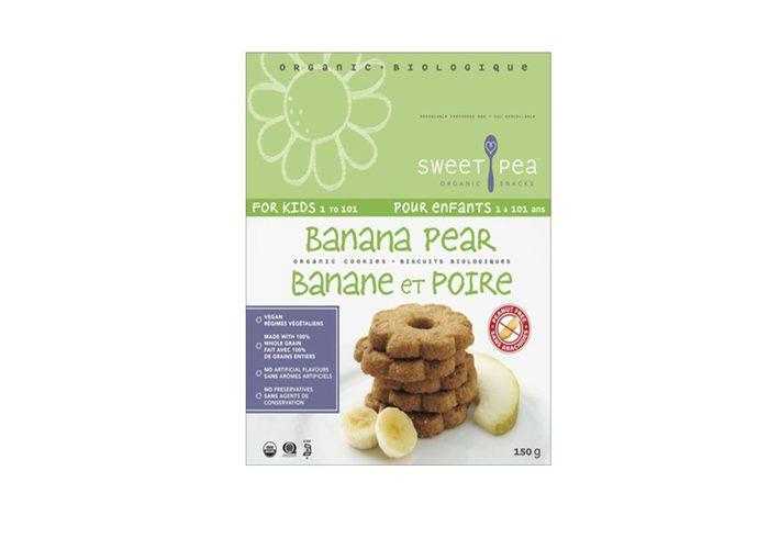 Banana Pear Cookies
