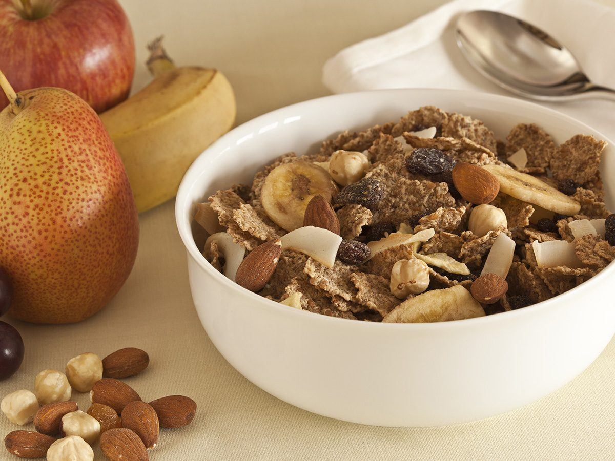Snacks, fibre cereal