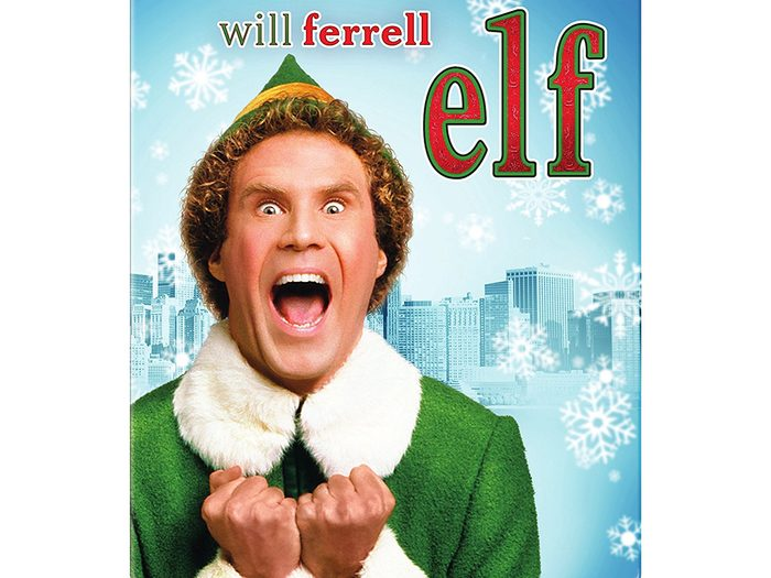 sleep more over the holidays watch a comedy, Elf