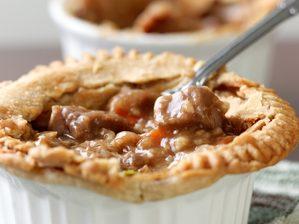 Classic Comfort Food: Beef Pot Pie