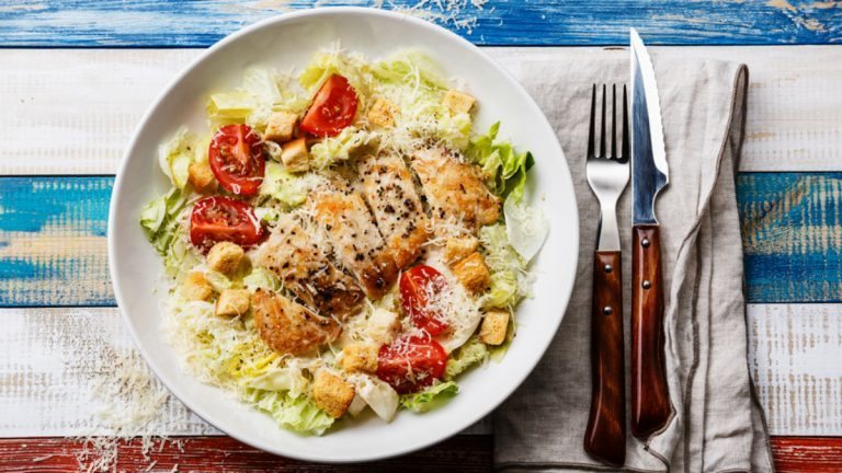 Weight Loss Meals Healthy Chicken Caesar Salad