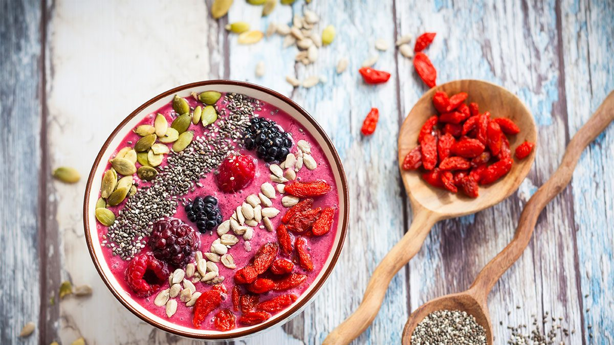 Breakfast Personality, smoothie bowl
