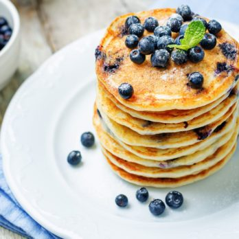 The World's Best Blueberry Pancake Recipe