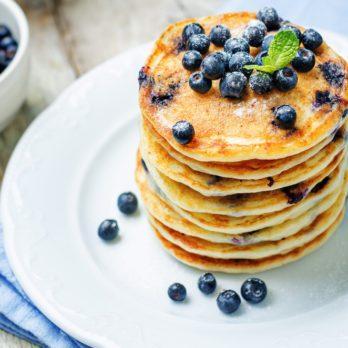 The World's Best Blueberry Pancake Recipe