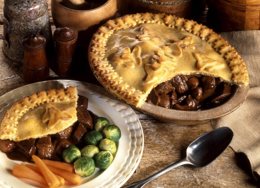 Healthy Recipe: Easy Classic Steak and Kidney Pie