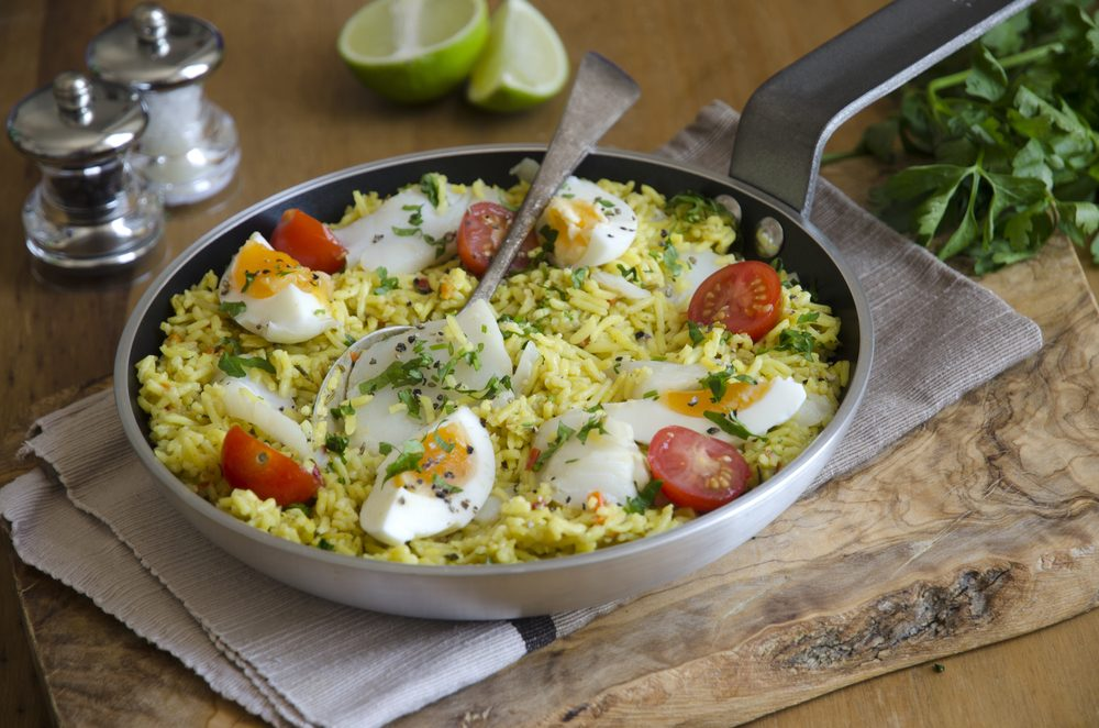 Smoked Cod Kedgeree_hard-boiled egg recipes