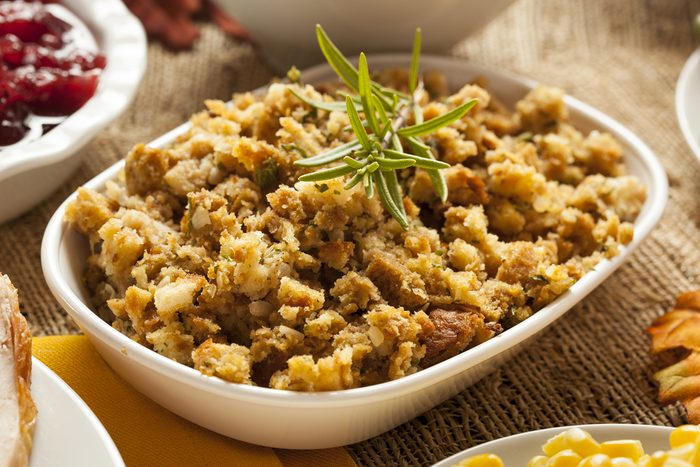 healthy thanksgiving recipes   homemade stuffing