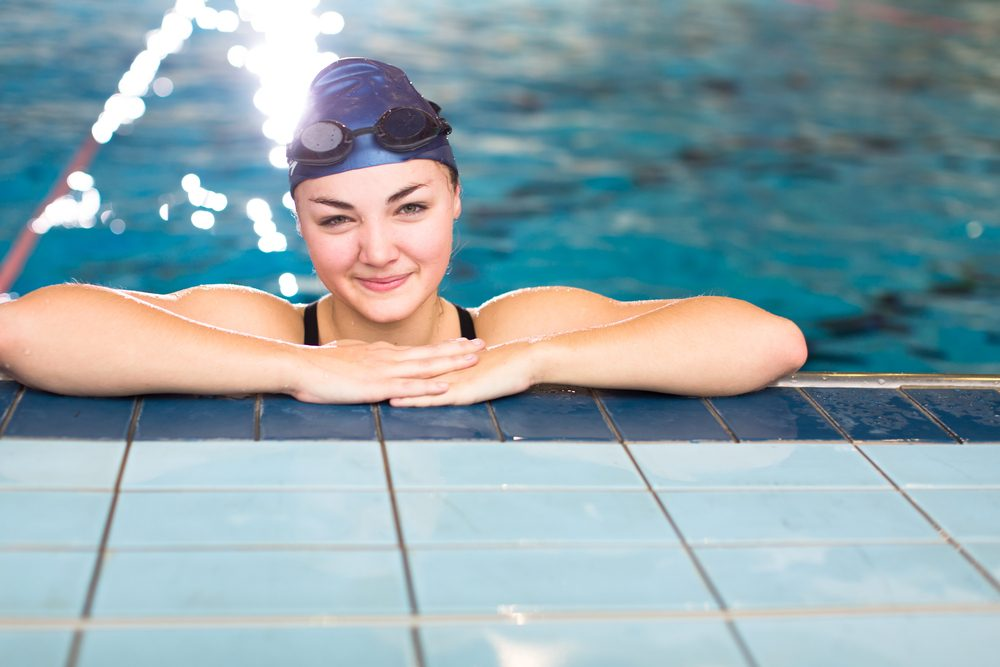9 great health benefits of swimming all year long 9 9 for Exercise pool canada
